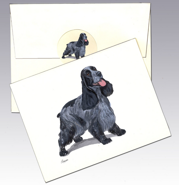 English Cocker Spaniel 8 Pack Notecards