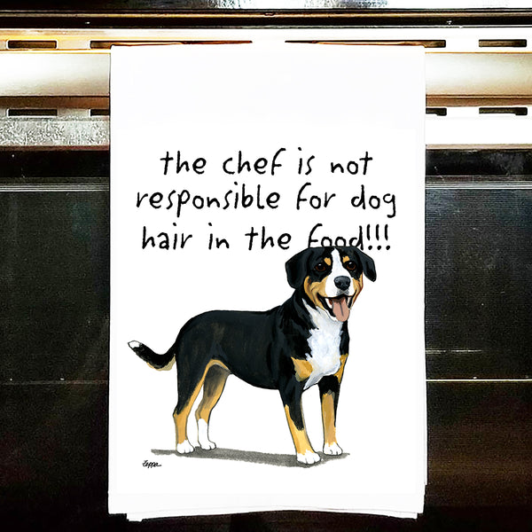 Entlebucher Mountain Dog Kitchen Tea Towel