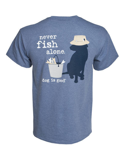 Never Fish Alone T-Shirt