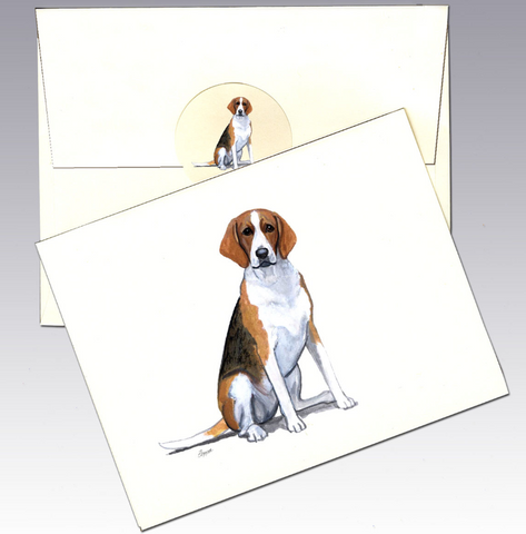 Foxhound 8 Pack Notecards