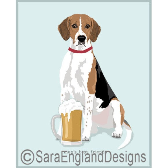 American Foxhound Best Friends Prints