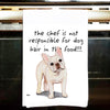French Bulldog Kitchen Tea Towel