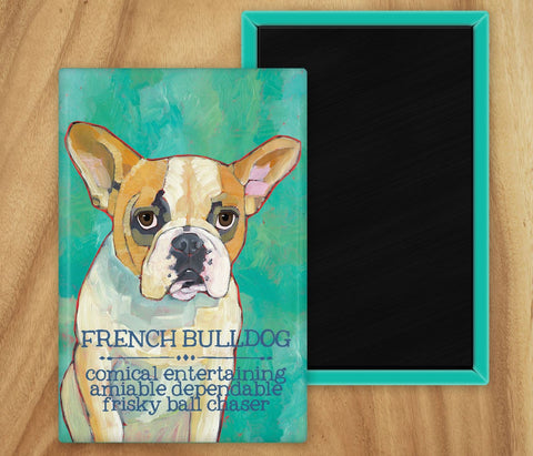 Frenchie 2 x 3 Fridge Magnet