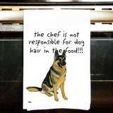 German Shepherd Kitchen Tea Towel
