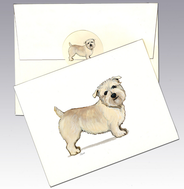 Glen of Imaal Terrier 8 Pack Notecards