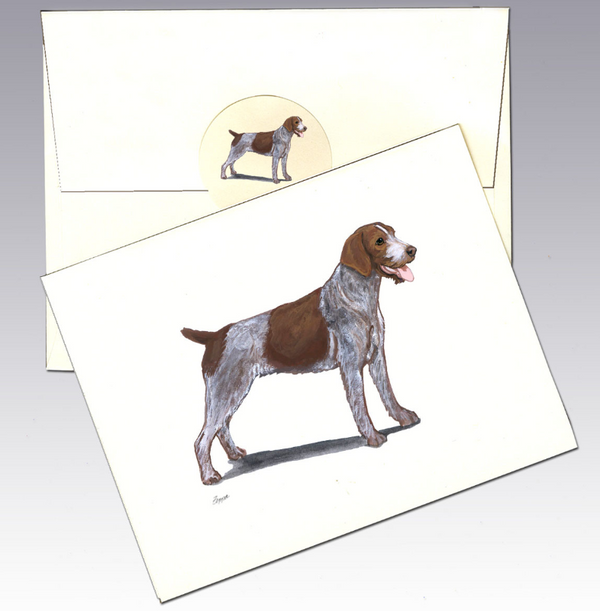 German Wirehaired Pointer 8 Pack Notecards