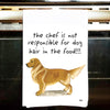 Golden Retriever Kitchen Tea Towel