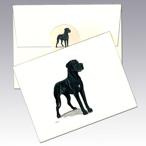 Great Dane 8 Pack Notecards