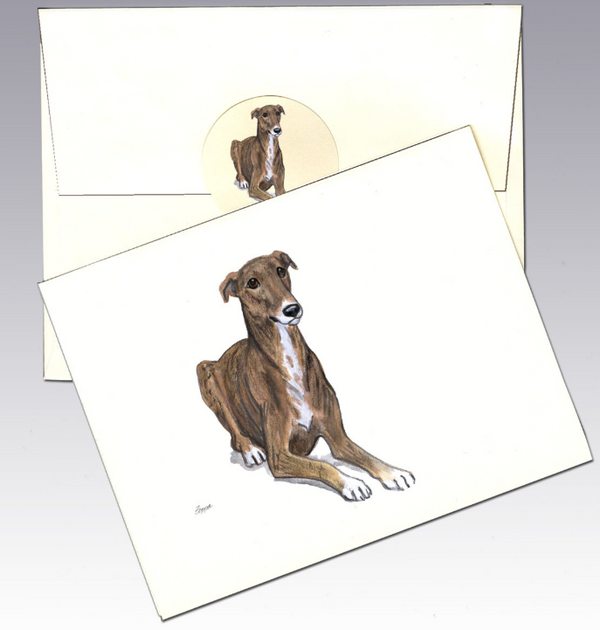 Greyhound 8 Pack Notecards
