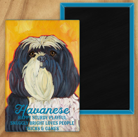 Havanese 2 x 3 Fridge Magnet