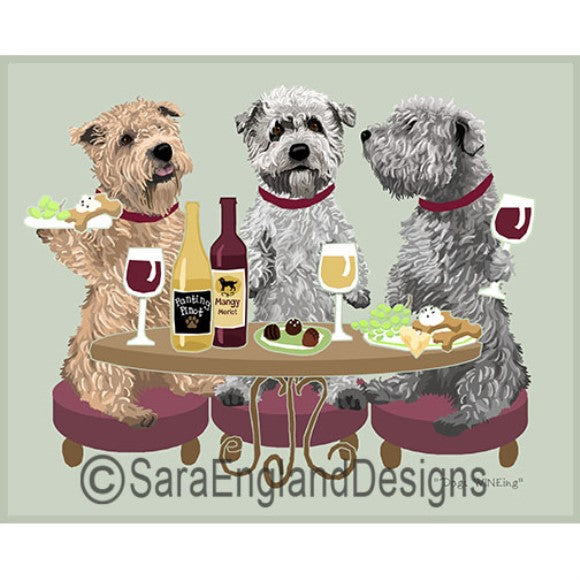 Glen of Imaal Terrier 3 Dogs Prints