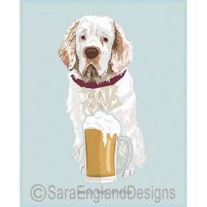 Clumber Spaniel Best Friends Prints