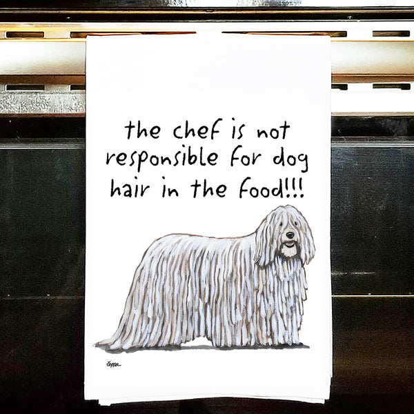 Komondor Kitchen Tea Towel