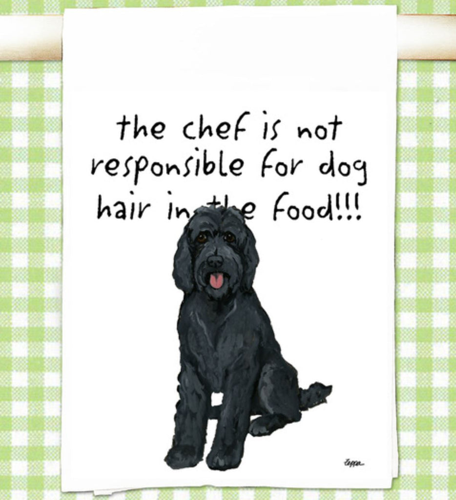 Labradoodle Kitchen Tea Towel