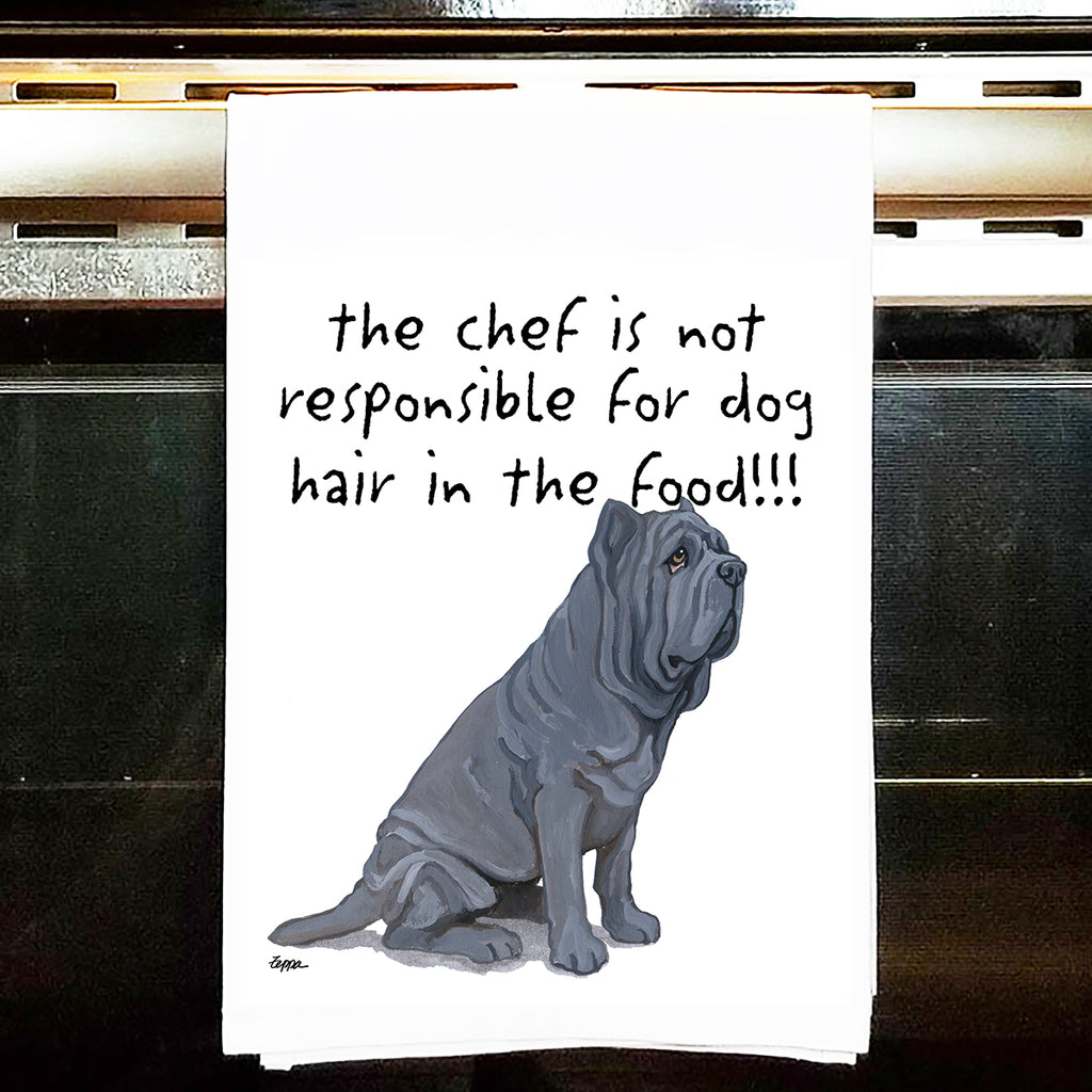 Neapolitan Mastiff Kitchen Tea Towel