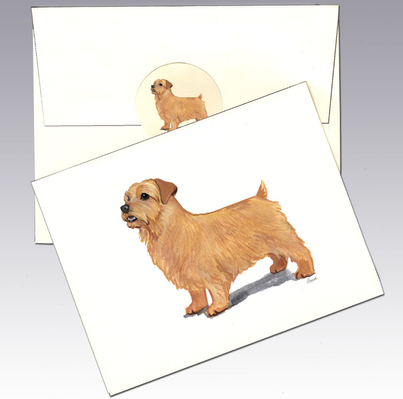 Norfolk Terrier 8 Pack Notecards