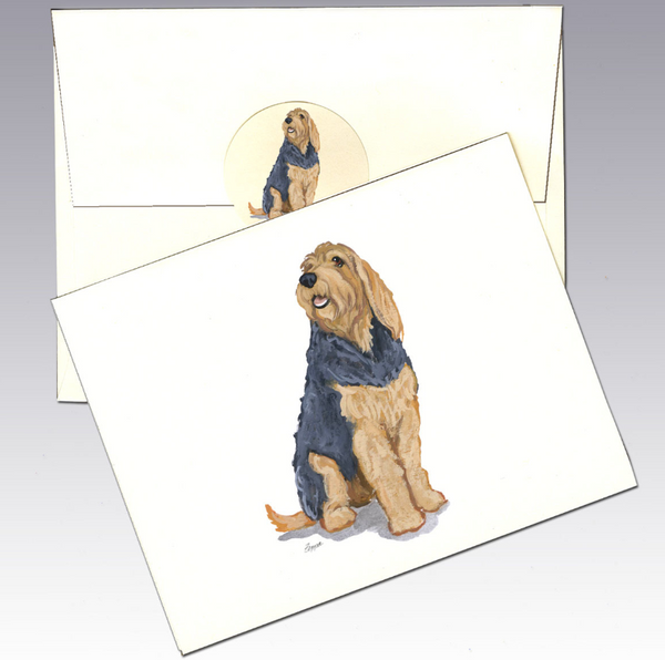 Otterhound 8 Pack Notecards