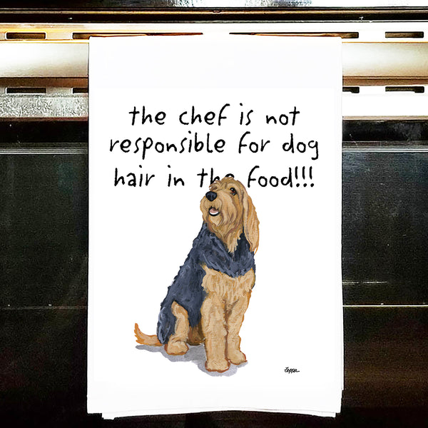 Otterhound Kitchen Tea Towel
