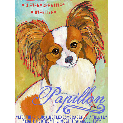 Papillion 2 x 3 Fridge Magnet