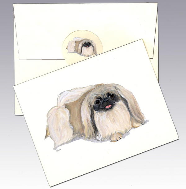 Pekingese 8 Pack Notecards