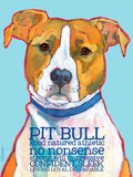 Pitbull 2 x 3 Fridge Magnet