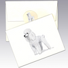 Poodle 8 Pack Notecards