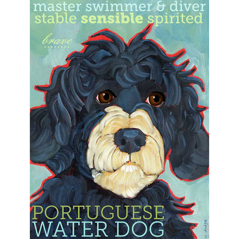 Portugese Water Dog 2 x 3 Fridge Magnet