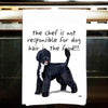 Portuguese Water Dog Kitchen Tea Towel