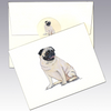 Pug 8 Pack Notecards