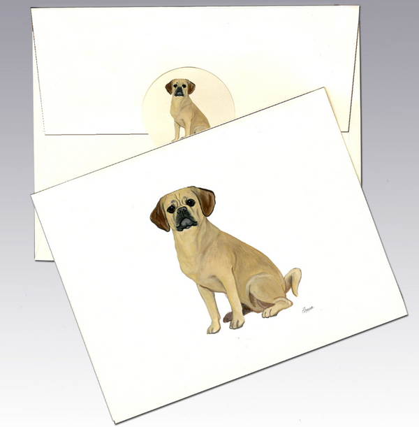Puggle 8 Pack Notecards