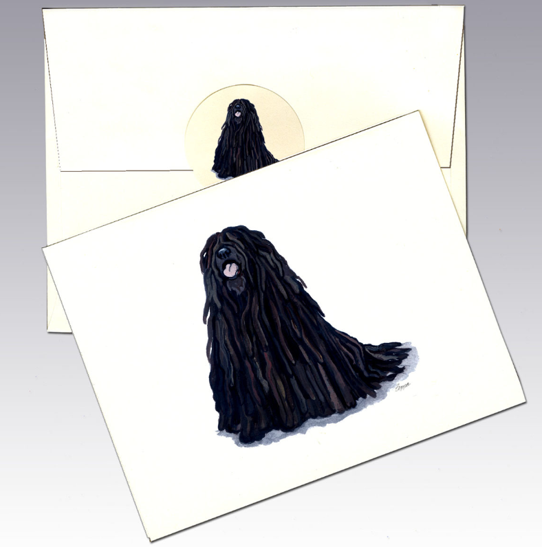 Puli 8 Pack Notecards