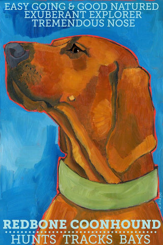 Redbone Coonhound 2 x 3 Fridge Magnet