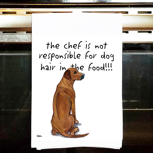 Rhodesian Ridgeback Kitchen Tea Towel