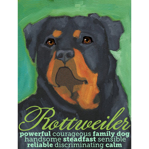 Rotweiler 2 x 3 Fridge Magnet