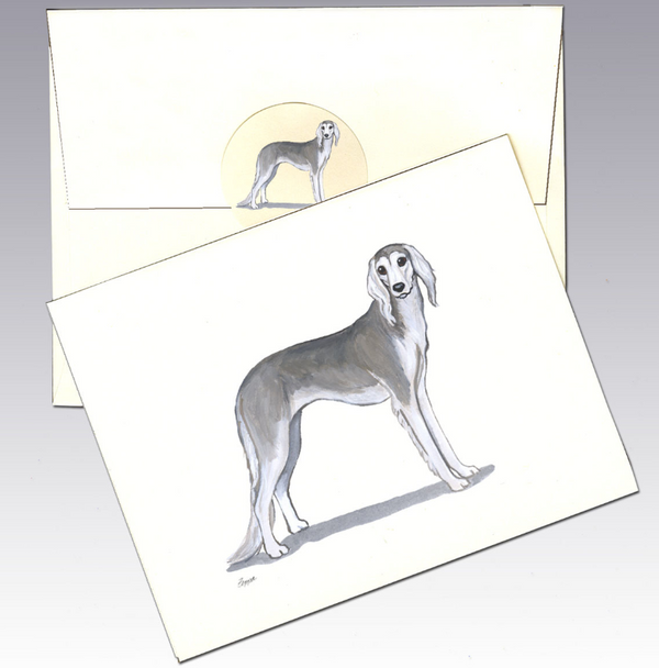 Saluki 8 Pack Notecards