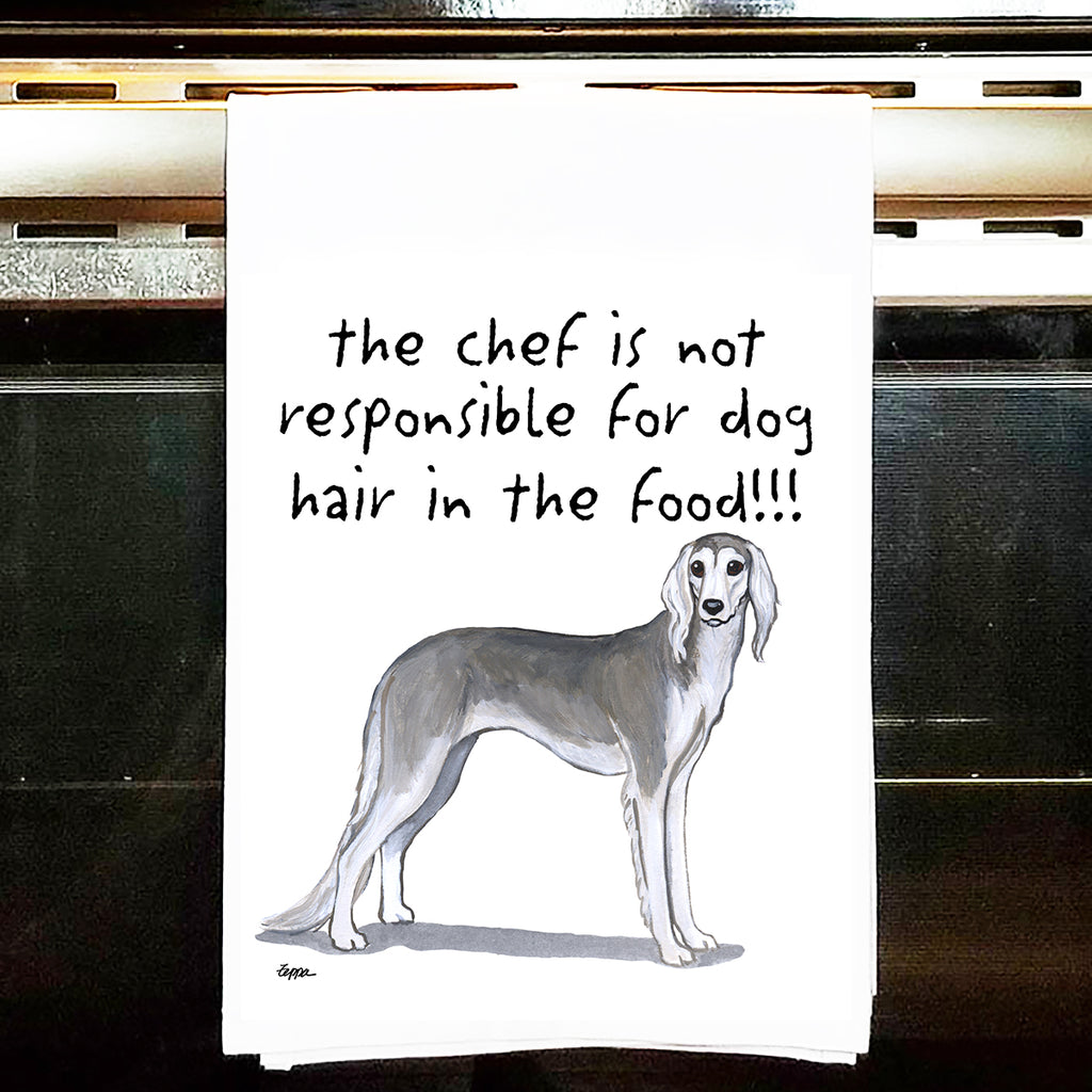 Saluki Kitchen Tea Towel