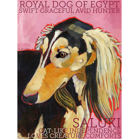 Saluki 2 x 3 Fridge Magnet