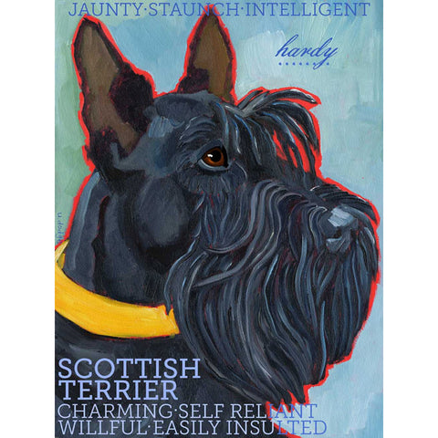 Scottie 2 x 3 Fridge Magnet