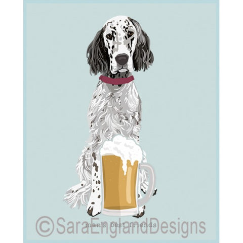 English Setter Best Friends Prints