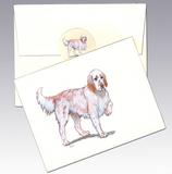 English Setter 8 Pack Notecards