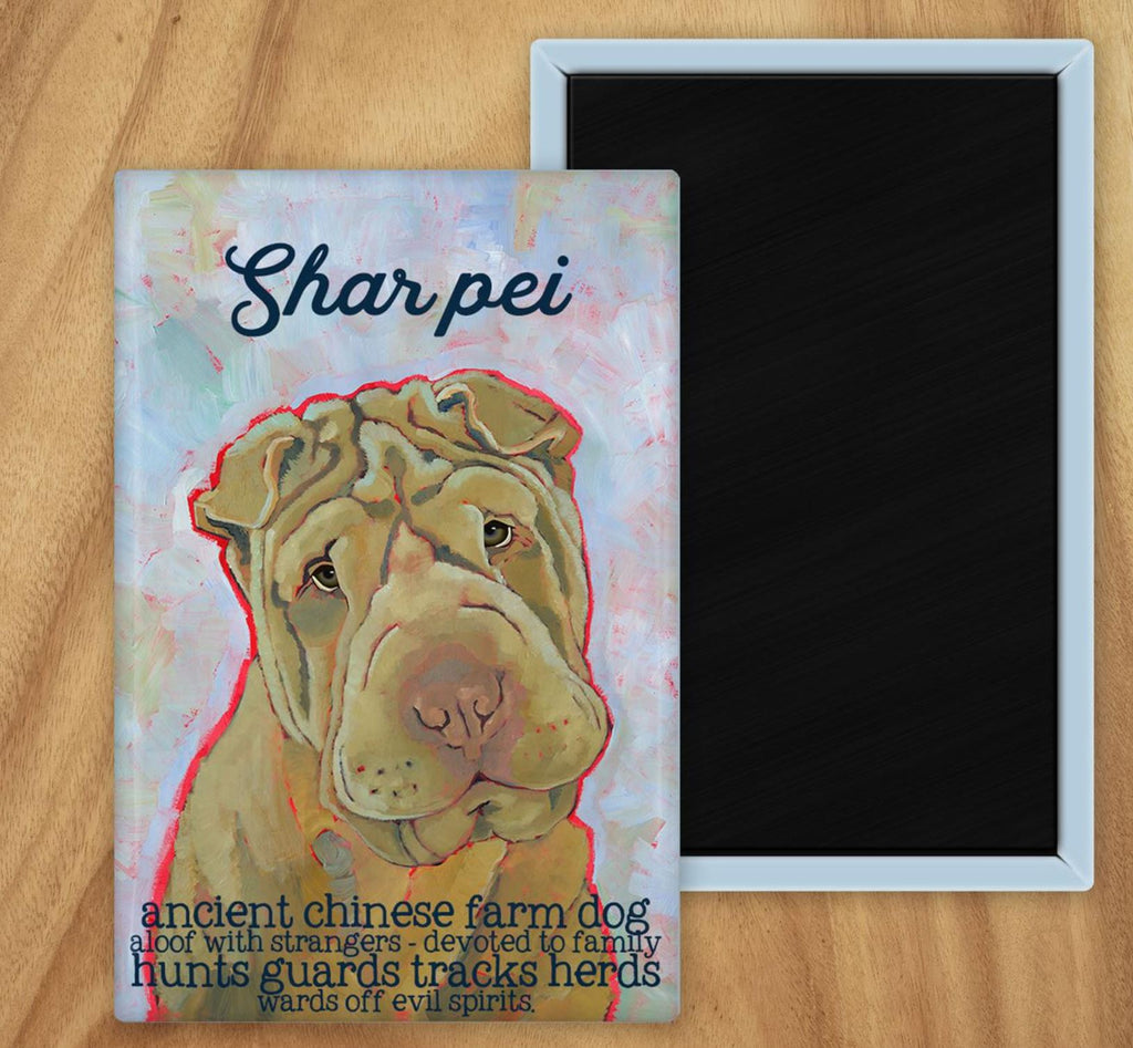 Shar Pei 2 x 3 Fridge Magnet