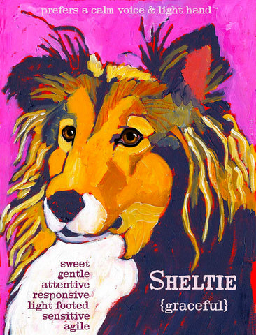 Sheltie 2 x 3 Fridge Magnet