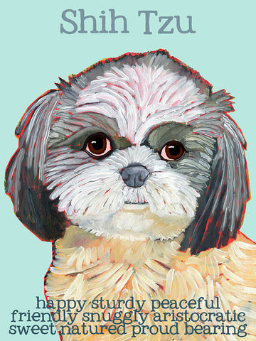Shih Tzu 2 x 3 Fridge Magnet