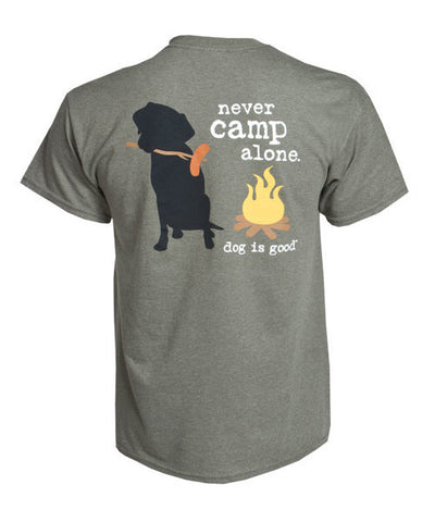 Never Camp Alone T-Shirt