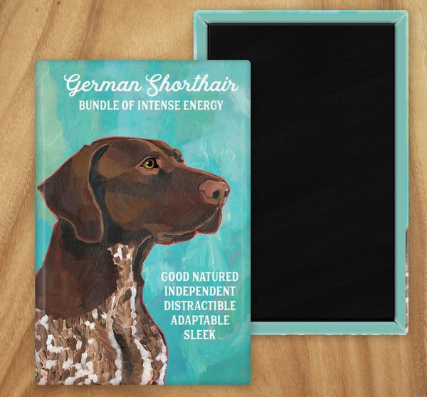 German Shorthaired Pointer 2 x 3 Fridge Magnet