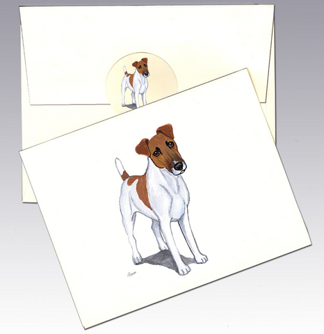 Smooth Fox Terrier 8 Pack Notecards