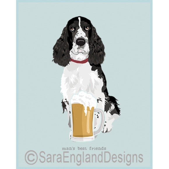 English Springer Spaniel Best Friends Prints