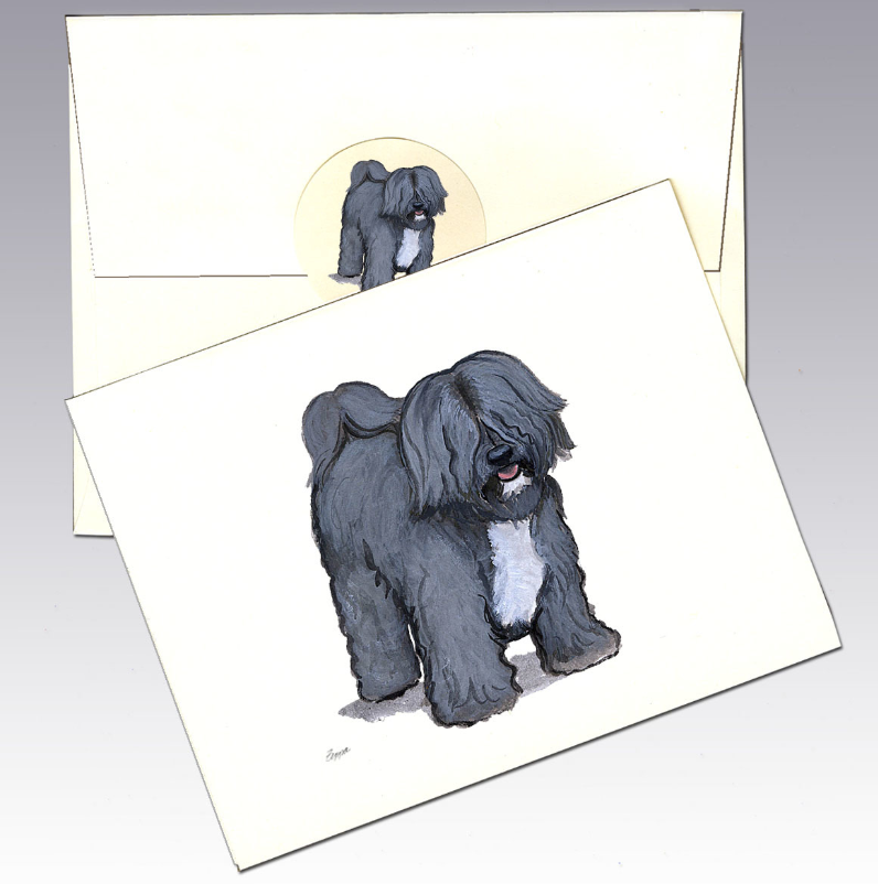 Tibetan Terrier 8 Pack Notecards