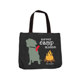 Dog Is Good Tote Bags