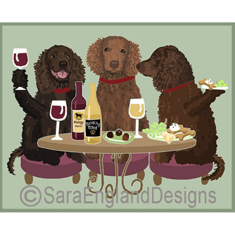 American Water Spaniel 3 Dogs Prints